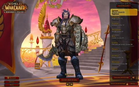 World of Warcraft Ryuzen présentation personnages
