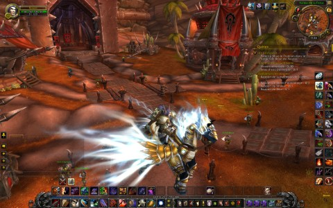 World of Warcraft Destrier de Tyraël Orgrimmar