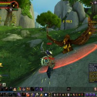 World of Warcraft combat