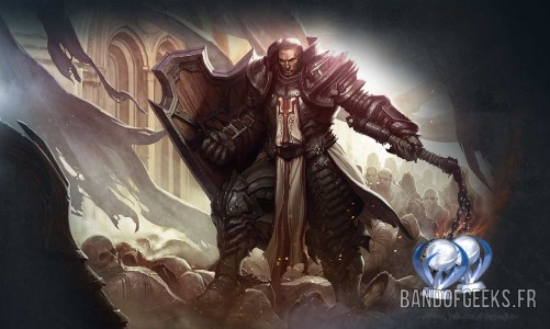 Diablo III Reapers of Souls Trophée Platine Band of Geeks