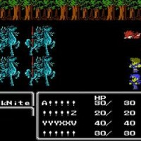 Final Fantasy III Nes gameplay