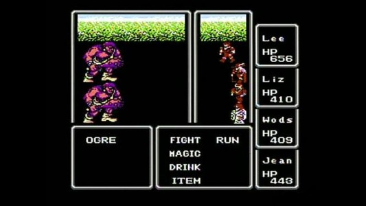 Final Fantasy Nes gameplay