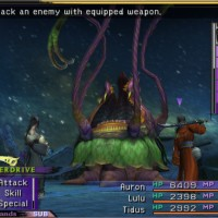 Final Fantasy X gameplay combat