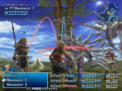Final Fantasy XII gameplay