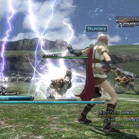 Final Fantasy XIII gameplay