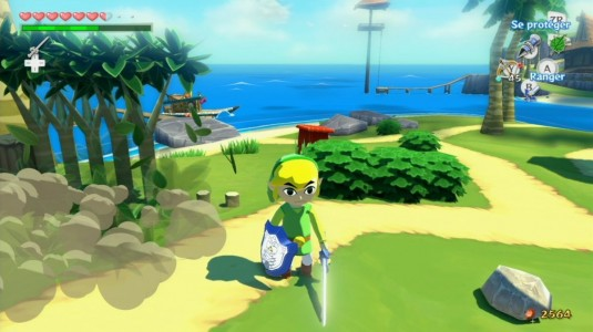 The Legend of Zelda - The Wind Waker HD île de Link
