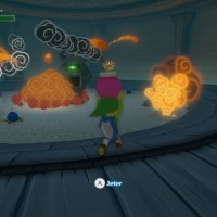 The Legend of Zelda - The Wind Waker HD bombes explosions