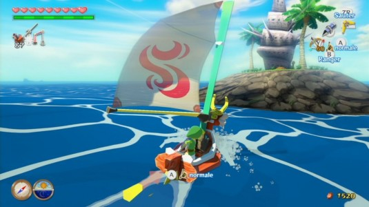 The Legend of Zelda - The Wind Waker HD navigation