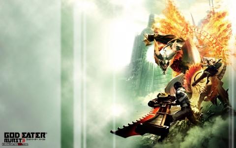 God Eater Burst Cover Art PSP Band of Geeks Nos jeux du moment