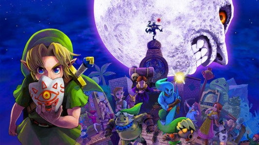 Artwork Majora's Mask Nintendo 3DS Band of Geeks