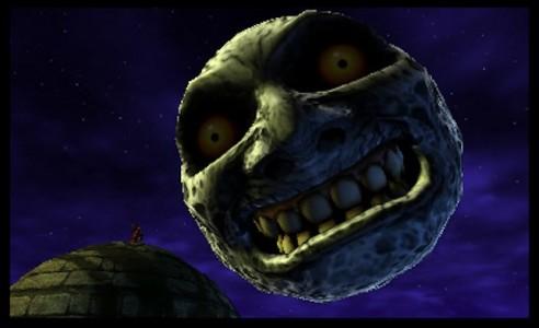 Lune Majora's Mask Nintendo 3DS