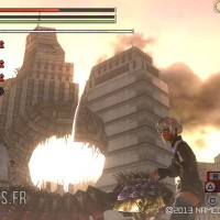 God Eater 2 Band of Geeks Devastated city