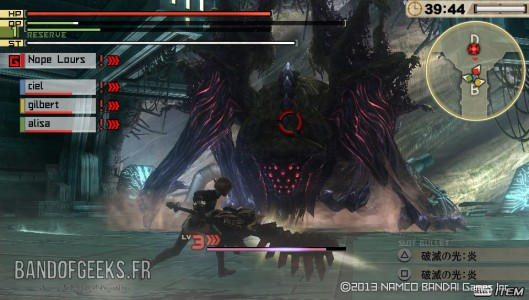 God Eater 2 Band of Geeks Ouroboros