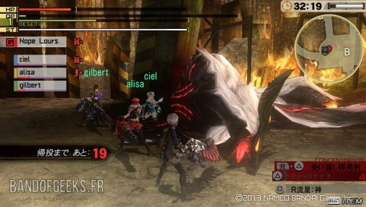 God Eater 2 Magatsu Kyuubi Mort Band of Geeks