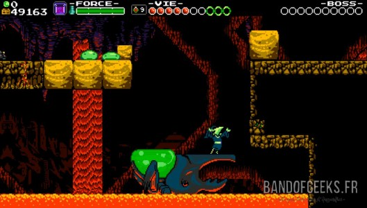 Plague of Shadows Shovel Knight Critique Band of Geeks Danse sur Scarabée