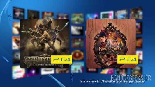 PlayStation Plus Décembre 2015 Band of Geeks
