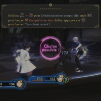 Tales of Xillia 2 tutorial combat