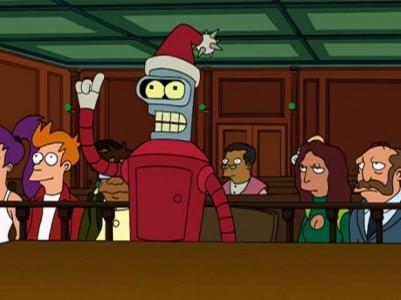 Bender Père Noël Band of Geeks