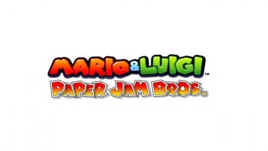 Mario et Luigi Paper Jam Bros. Logo