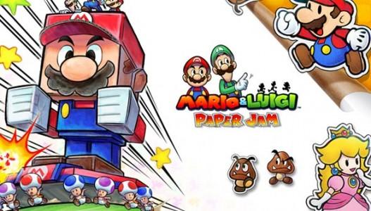 Mario&Luigi Paper Jam Nos Jeux du Moment Band of Geeks