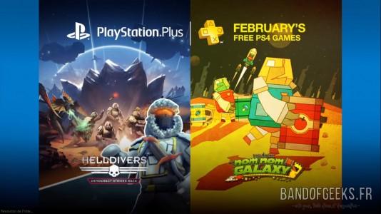 PlayStation Plus Février 2016 Actualité de la Semaine Band of Geeks