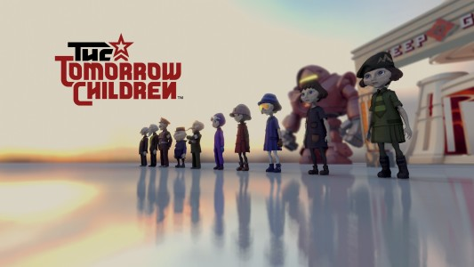 The Tomorrow Children Logo Line up Band of Geeks