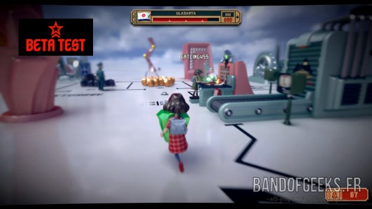 The Tomorrow Children Recolte Band of Geeks