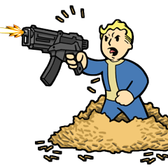 Fallout : New Vegas Band of Geeks Trophée Bronze Marchand de plomb