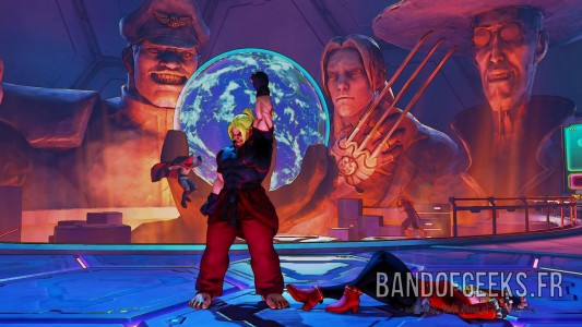Street Fighter V PlayStation 4 Band of Geeks Ken Karin