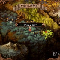 The Witch and the Hundred Knight : Revival Edition Carte du monde Wudes Way