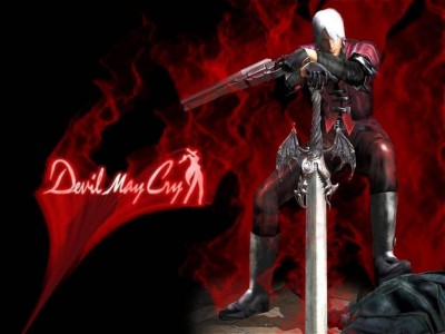 Dante Devil May Cry PlayStation 2 Band of Geeks