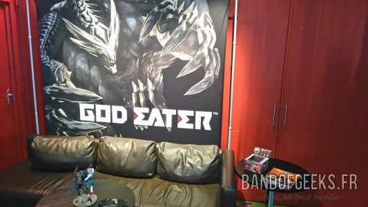 God Eater Interview room Band of Geeks Bandai Namco RPG Tour