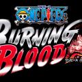 One Piece Burning Blood Logo sur fond noir