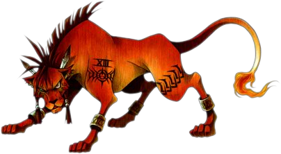 Red XIII de Final Fantasy VII