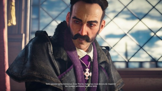 Assassin's Creed® Syndicate Crawford Starrick discute