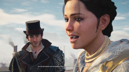 Assassin's Creed® Syndicate Evie et Jacob discutent