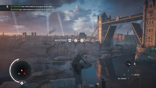 Assassin's Creed® Syndicate Lydia Frye synchronise la Tamise