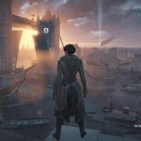 Assassin's Creed Syndicate Lydia est devant la Tamise