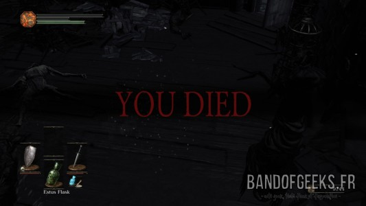 Dark Souls III You Died Band of Geeks