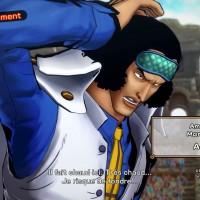 One Piece Burning Blood démo Aokji se présente avant le combat