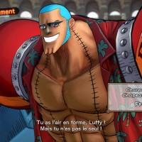 One Piece Burning Blood démo écran de présentation de Franky