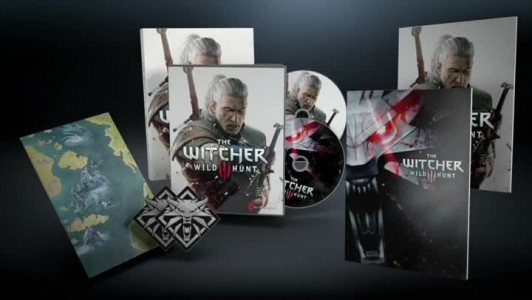 The Witcher 3 contenu du jeu