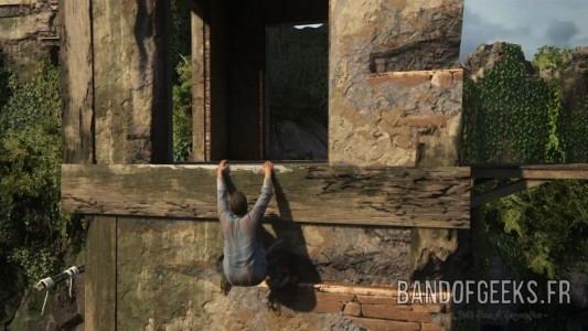Uncharted 4 Nathan Grimpe Band of Geeks