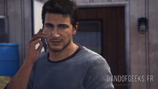 Uncharted 4 Nathan Telephone Band of Geeks