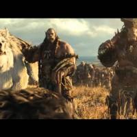 Warcraft - Le commencement Orcs et Loups prennent la pose dans la plaine