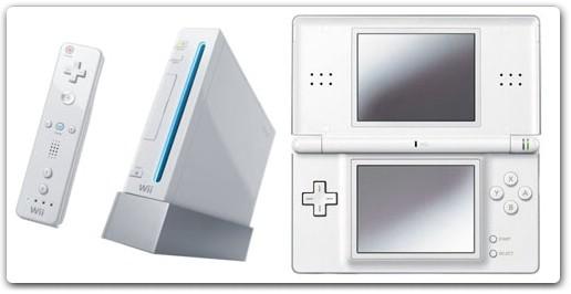 consoles Wii et DS