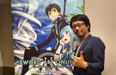Yosuke Futami Interview Sword Art Online Band of Geeks