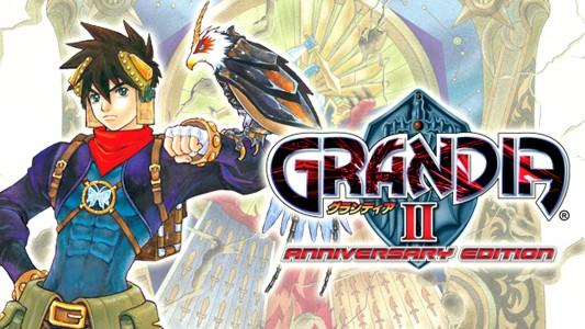Grandia II Anniversary Logo Band of Geeks