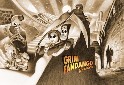 Grim Fandango Remastered écran titre logo