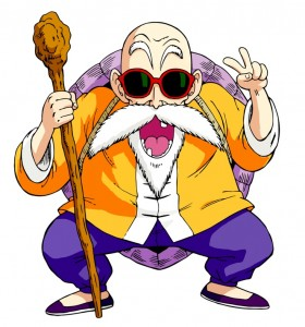 Muten Roshi Tortue Géniale Dragon Ball